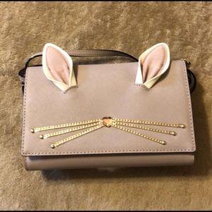very cute bunny kate spade bag.